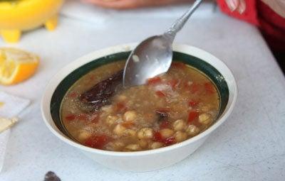 Sopa de Garbanzo (Chickpea Soup)