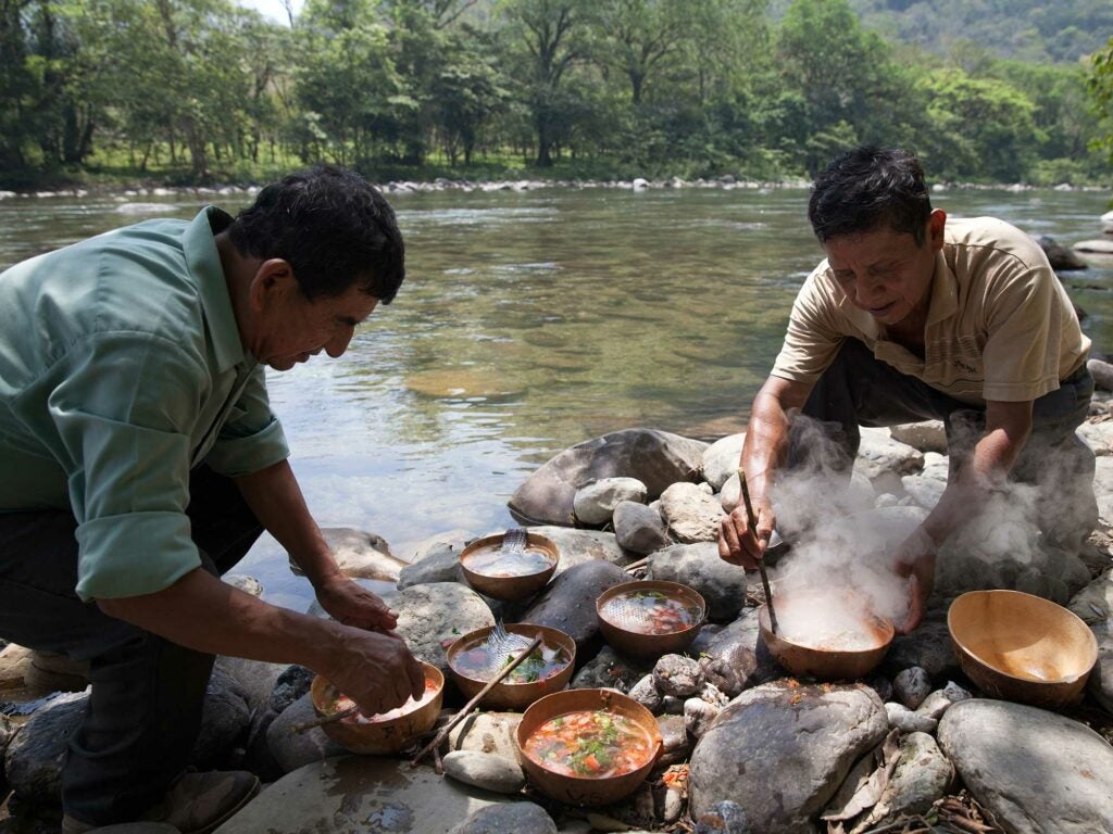 Cooking by the River