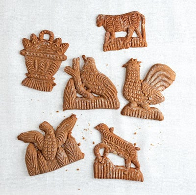 Molded Ginger Cookies (Speculaas)