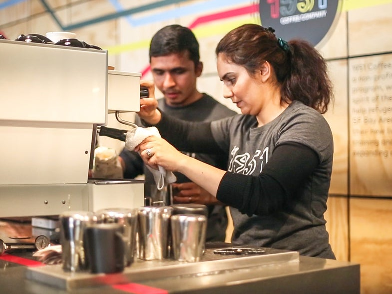 Inside Berkeley's Refugee-Run Cafe, Building New Lives With Coffee