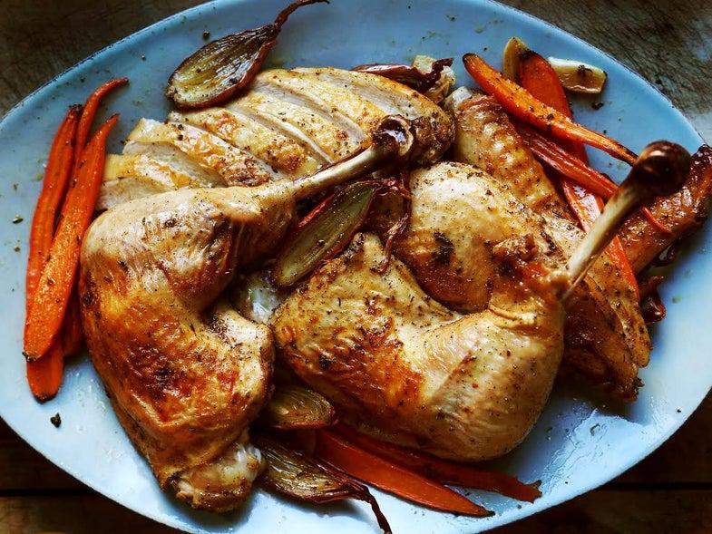 Roast Your Thanksgiving Turkey in Parts for the Fastest, Juiciest Bird