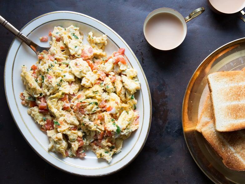 Parsi Style Scrambled Eggs