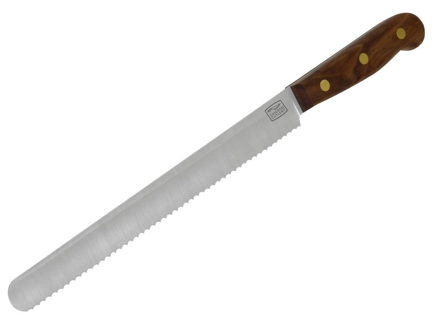 Chicago Cutlery Walnut Serrated Knife