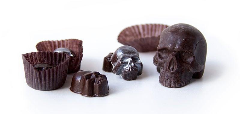 One Good Find: Chocolate Skulls