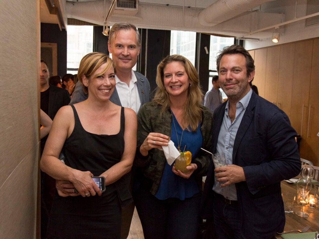 Martha Stewart Living's Dana Bowen, Lindsay Bowen, Chef Amanda Freitag, and Editor in Chief Adam Sachs.