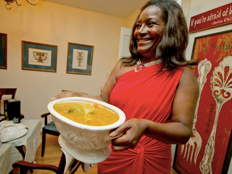 A Haitian New Year's Soup
