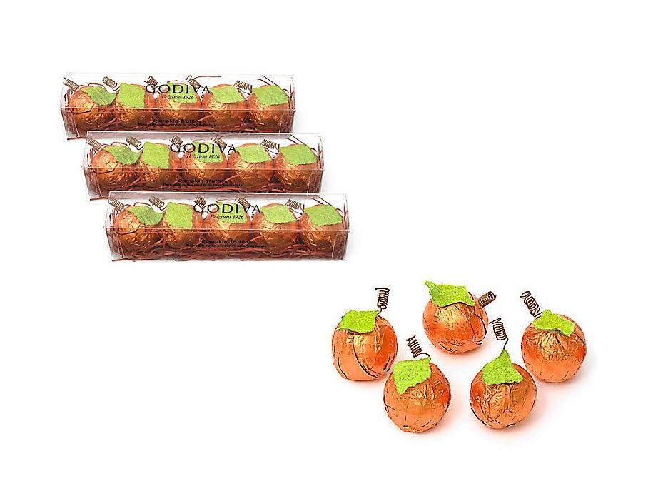 Godiva Chocolate Pumpkin Spice Truffle Flight