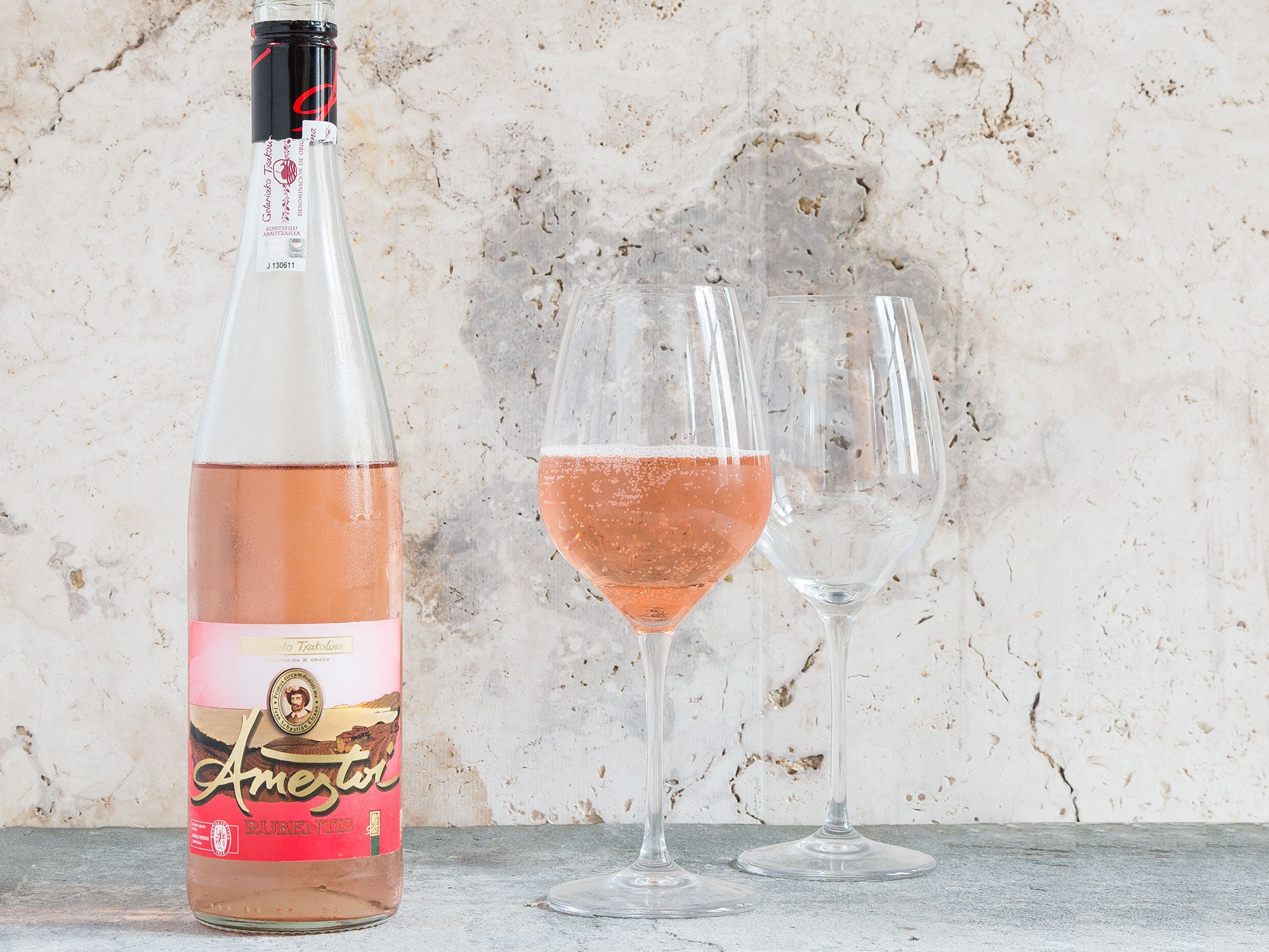 Why You Should Be Drinking Rosé Txakoli