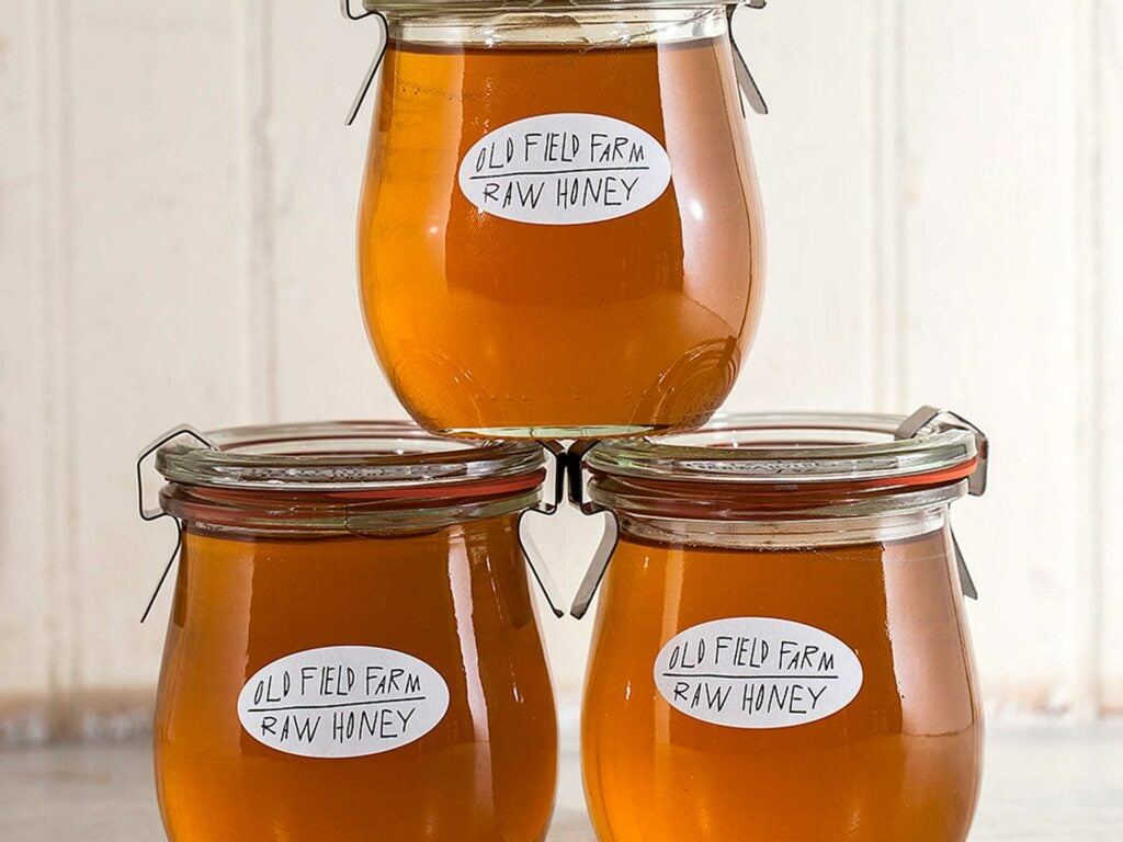 Old Fields Farms Raw Honey from the Hudson Valley