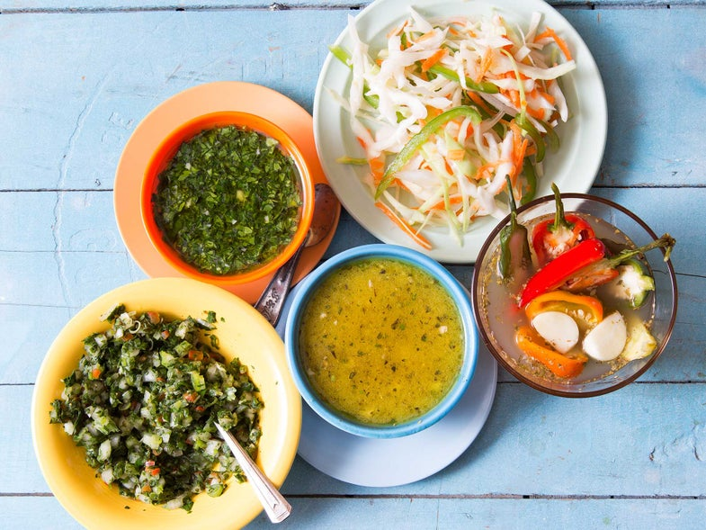 5 Easy, No-Cook Caribbean Condiments to Put on Everything