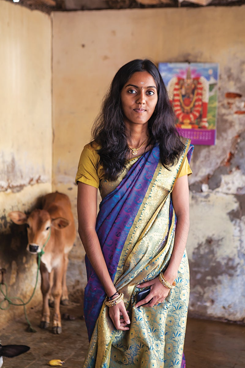 South India Woman