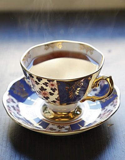 Tea at the Landmark London Hotel