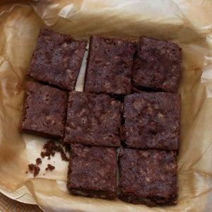 Katharine Hepburn's Brownies, Gluten-Free