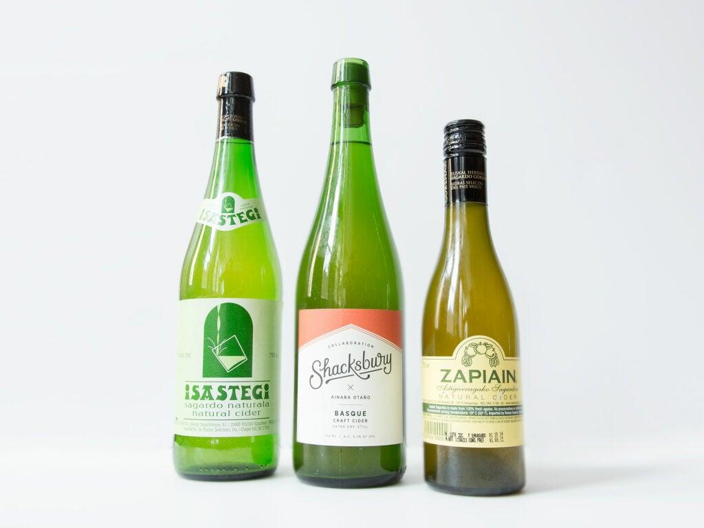 Cider Shacksbury Zapiain Sastegi