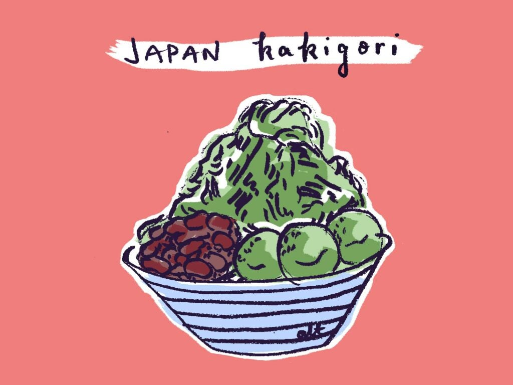 Shaved Ice Kakigori
