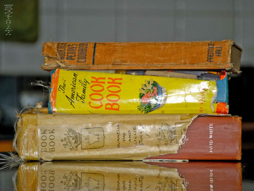 Old cookbooks