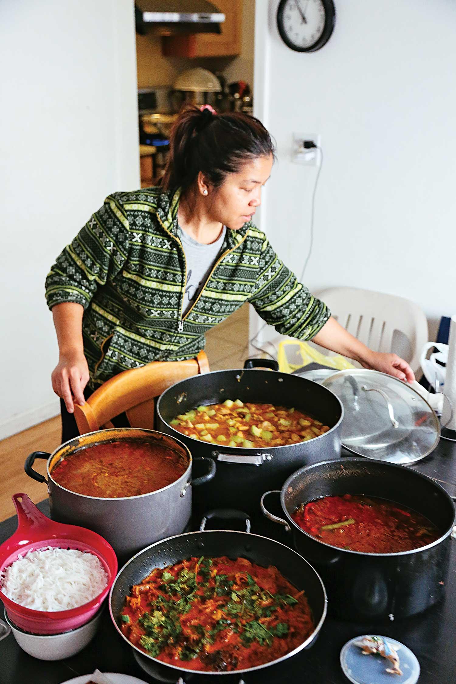 Meet the Queen of New York's Underground Burmese Food Club