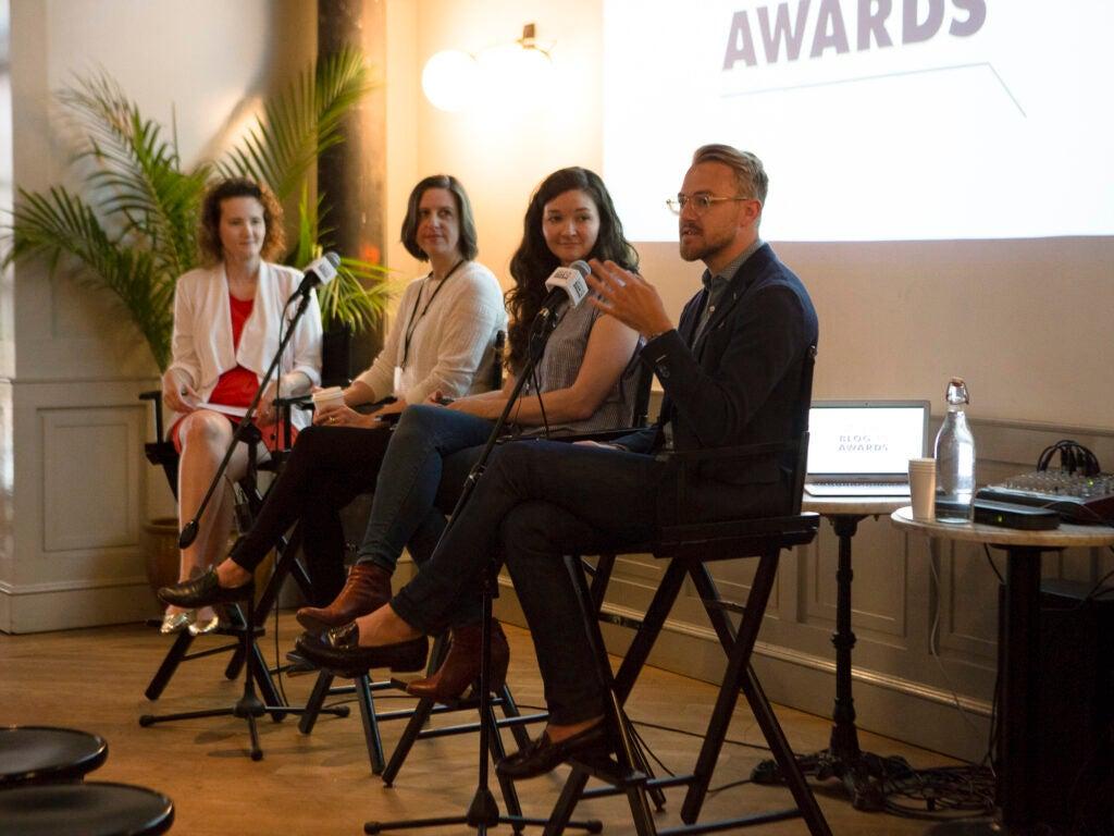 Sav Blog Awards Panel