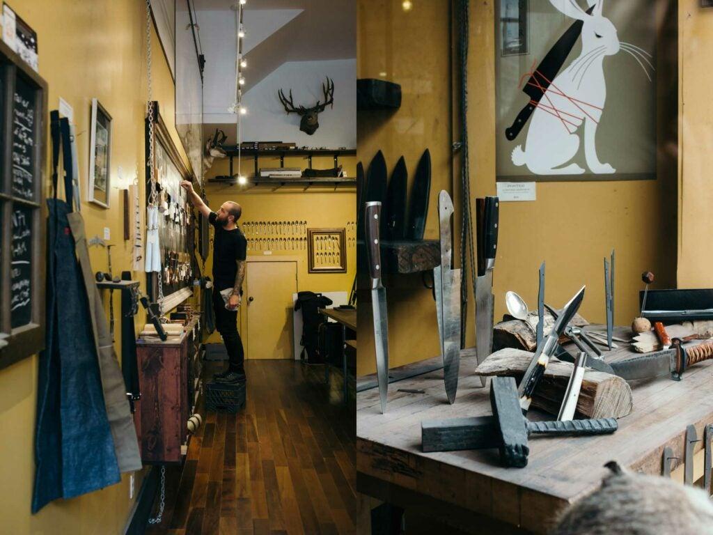 Town Cutler Displays