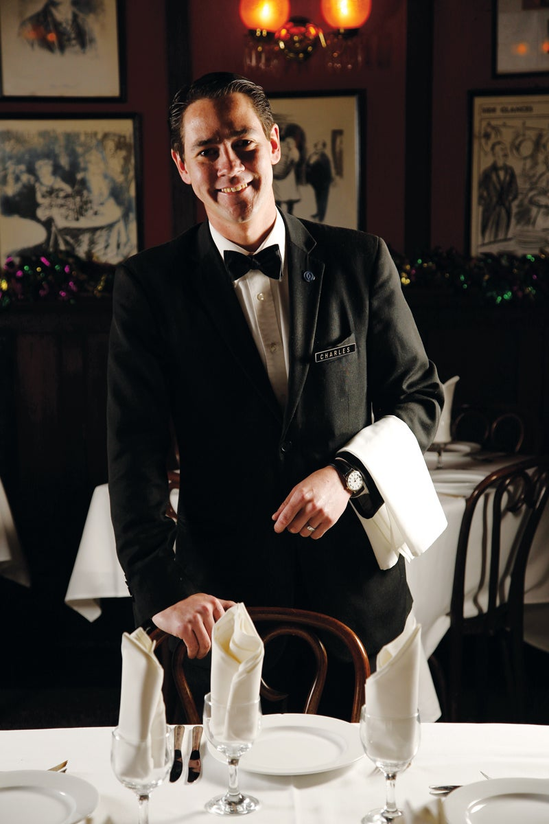 The Interview: Charles Carter, Waiter at Antoine's