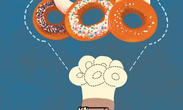 The Making of a Dunkin' Donut