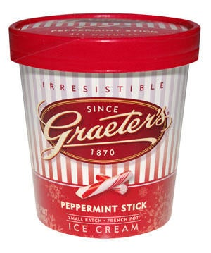 Graeter's Peppermint Ice Cream