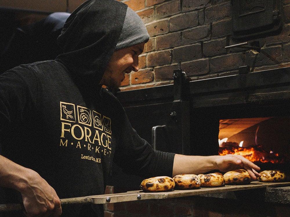 Forage Market Bagels Oven