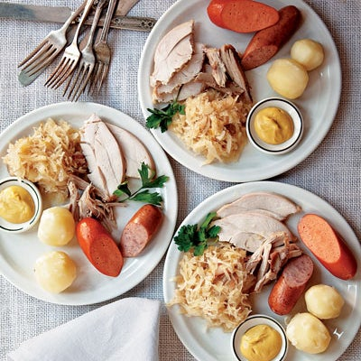 Menu: A German Christmas