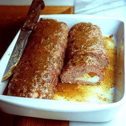 Meat Loaves with Eggs and Cheese