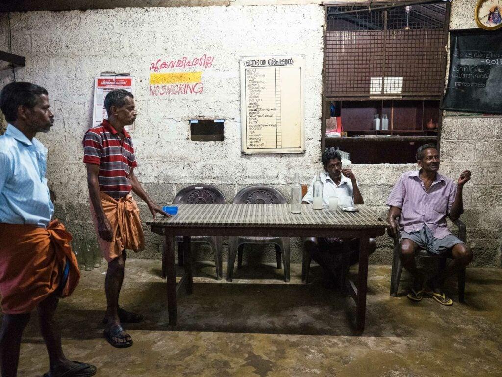 kerala toddy shop india coconut