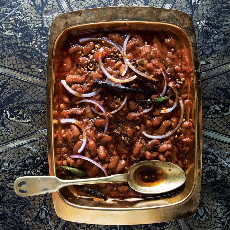 North Indian Kidney Bean Masala Stew (Rajma)