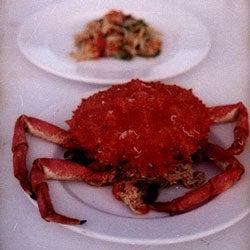 Grancevola con Zucchine e Carciofi (Spider Crab with Zucchini and Artichokes)