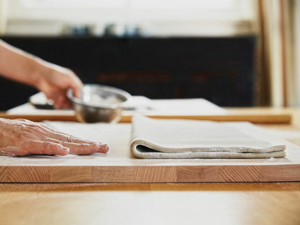 How to Make Fresh Soba Noodles