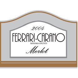 Ferrari-Carano, Sonoma County (California) Merlot 2004