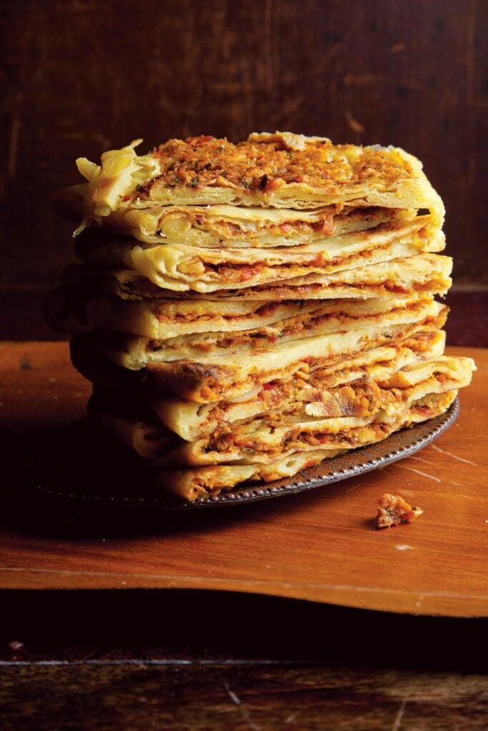 Algerian crepes