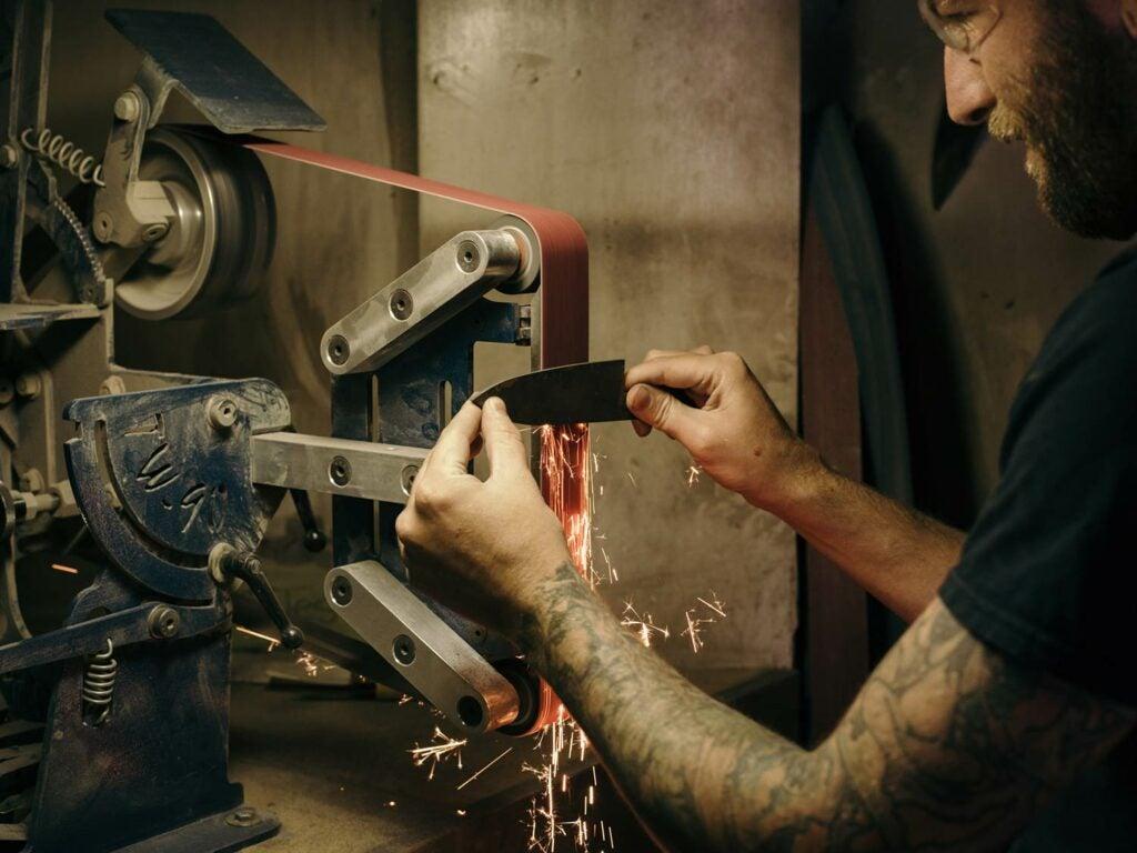 Machine Sharpening Knife