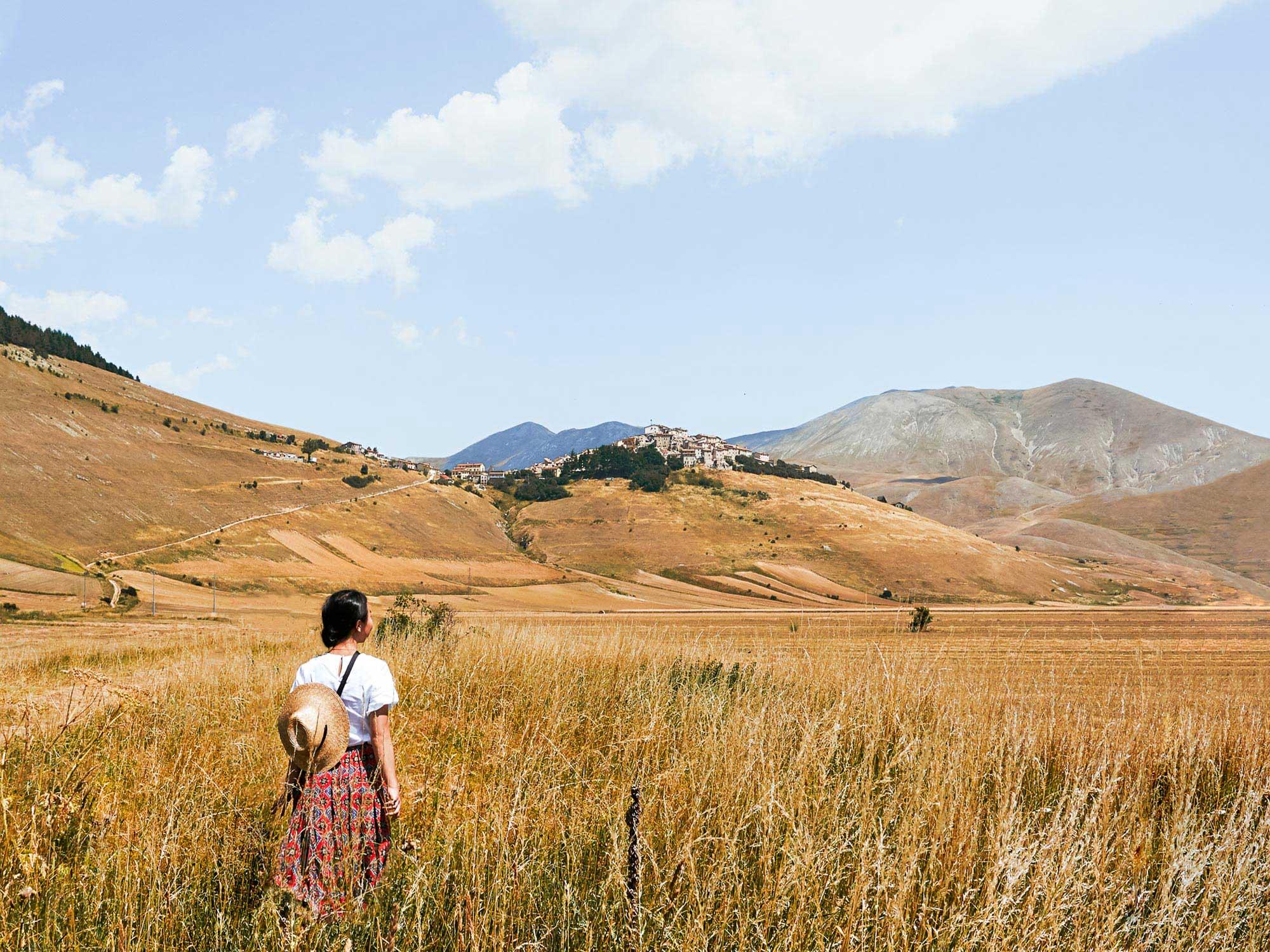 In Castelluccio, the Lentil Harvest Must Go On
