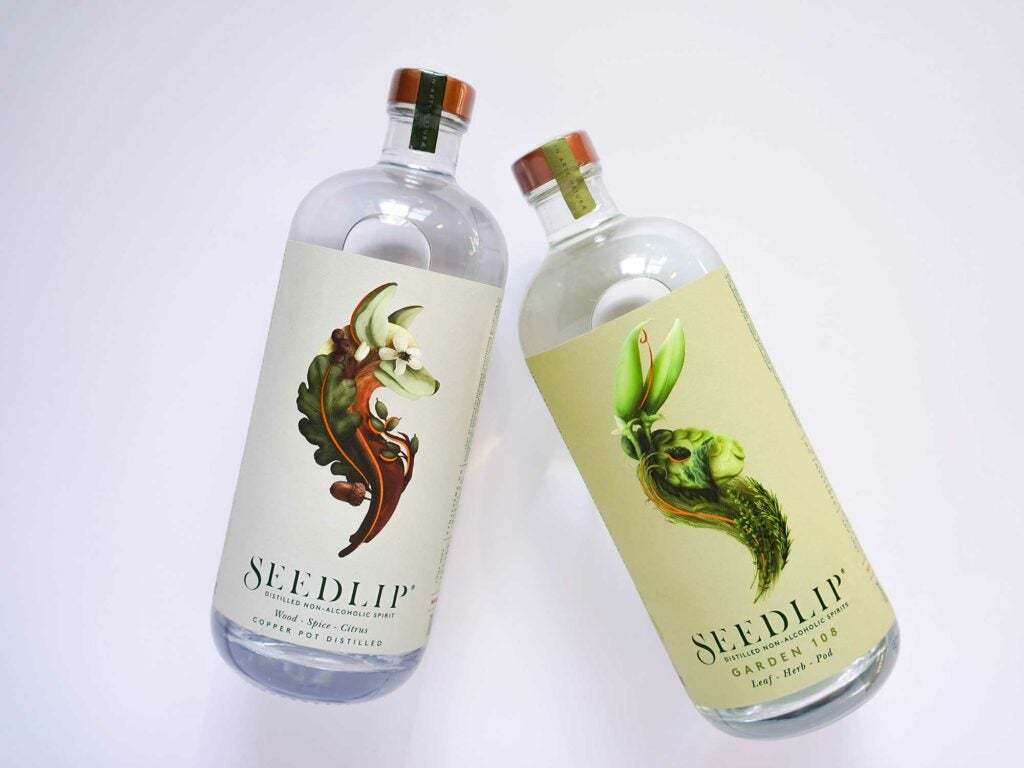 Non-alcoholic spirits work great in cocktails