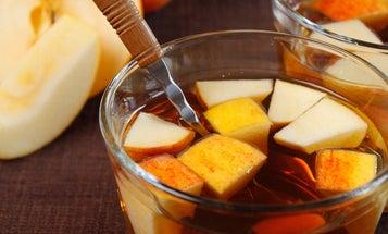 Bourbon Maple Chai Punch