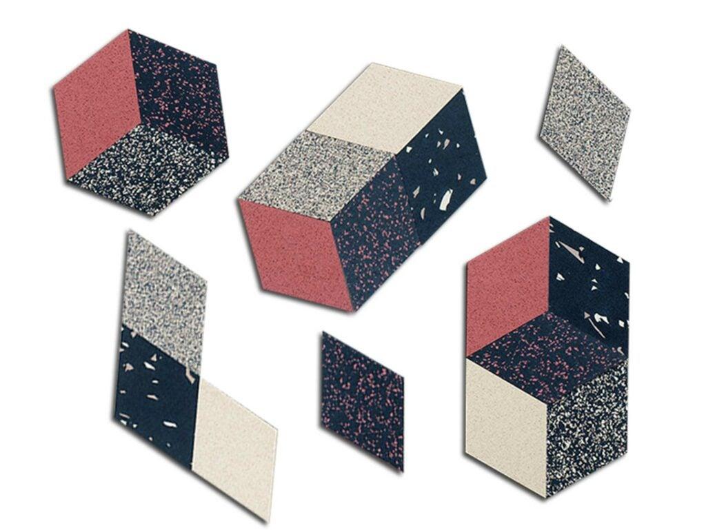 Melbourne rhombus table trivets