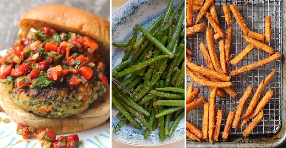 Menu: A Casual Vegetarian Dinner