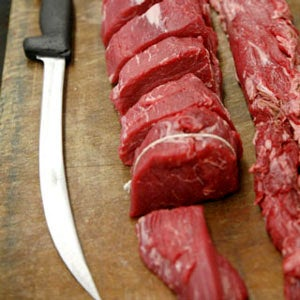 Cutting a Tenderloin