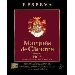 Marqués de Cáceres, Rioja (Spain) Reserva 2001