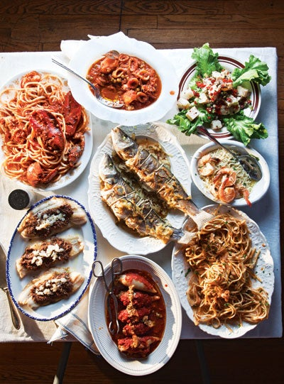 Celebrating the Feast of the Seven Fishes