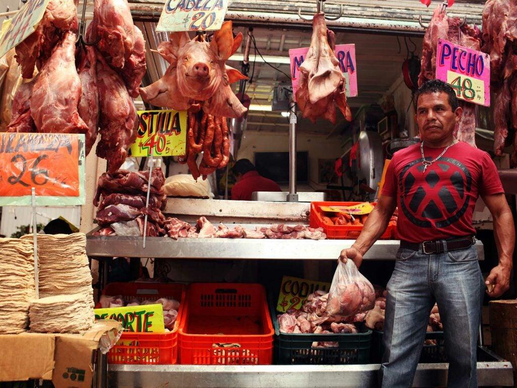Mercado Merced Meat Market