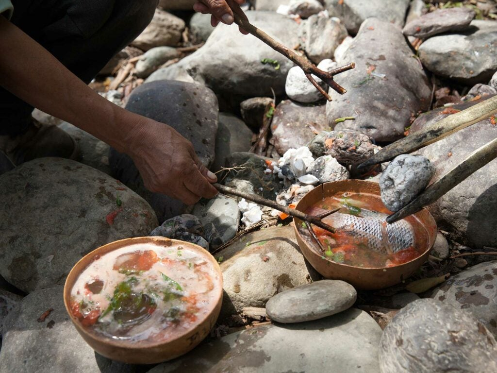 Cooking Stone Soup