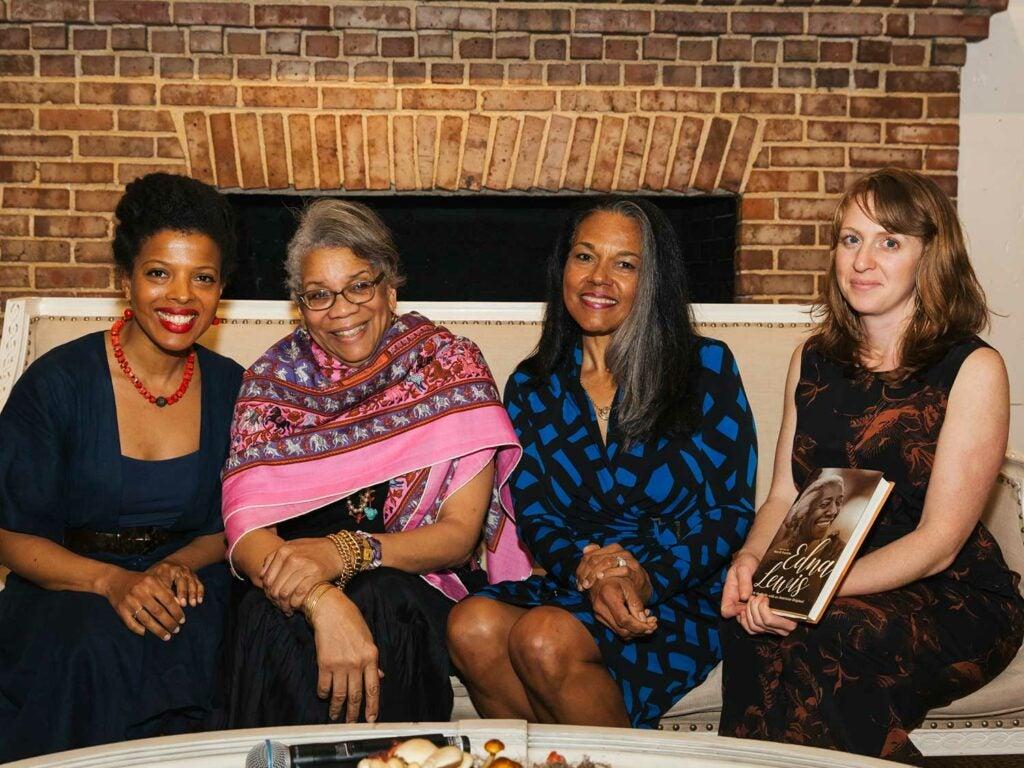 Author Klancy Miller, author Jessica B. Harris, journalist Toni Tipton-Martin, and writer Sara B. Franklin