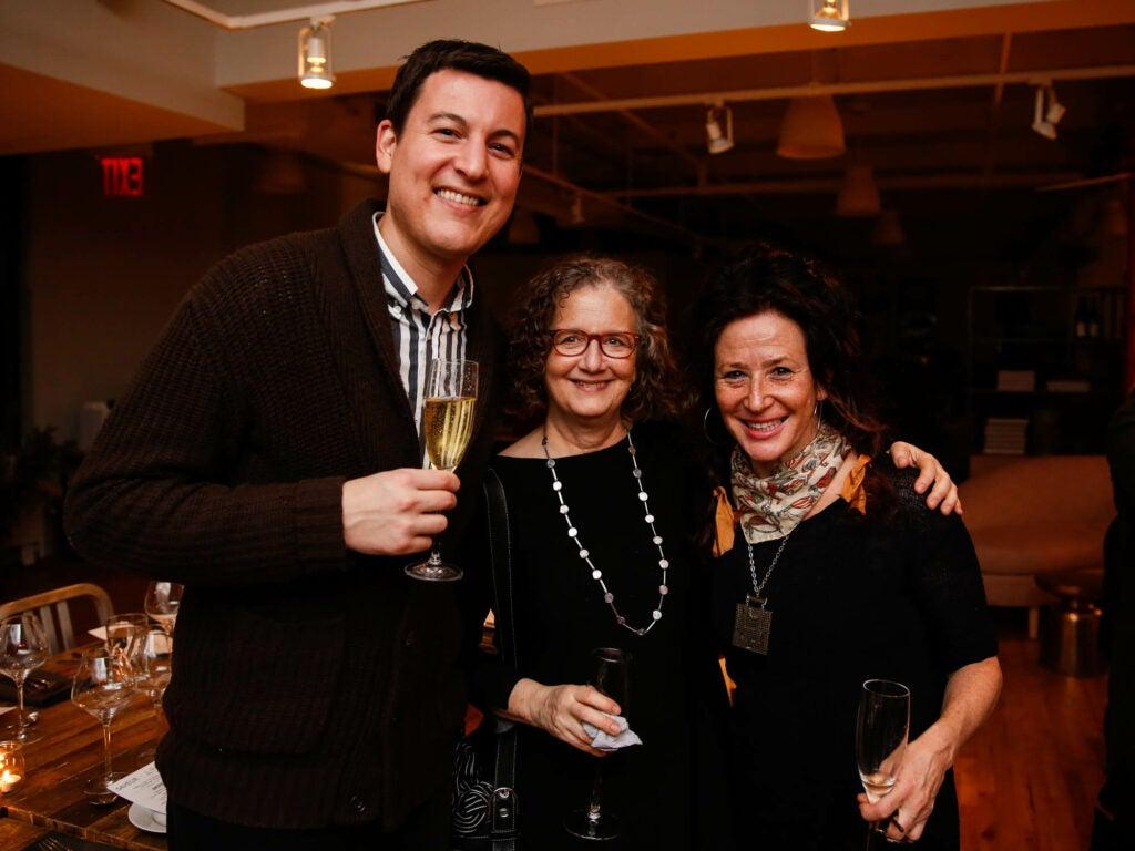 SAVEUR deputy editor Andrew Richdale, food photographer Beth Galton, and sugar artist Margaret Braun