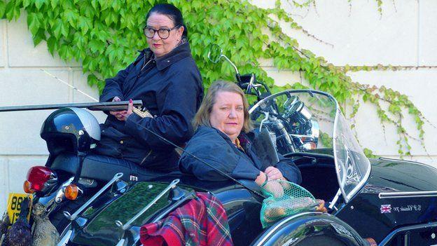 Fat older ladies