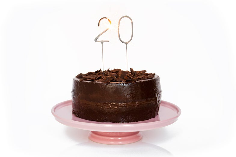 21 Cakes for Our 20th Birthday